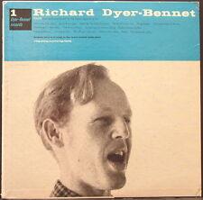 RICHARD DYER-BENNET - 1 ORIGINAL US PRESSING WITH INSERT