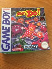 Game Boy Mr.Do! Rare CIB Free Uk Postage