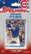 Chicago Cubs 2019 Topps Baseball Factory Sealed Team Set Bryant Schwarber Baez