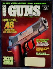 Magazine *GUNS* Nov 1997 !KIMBER Model 84 .223 RIFLE! *SAVAGE Model 210 SHOTGUN*