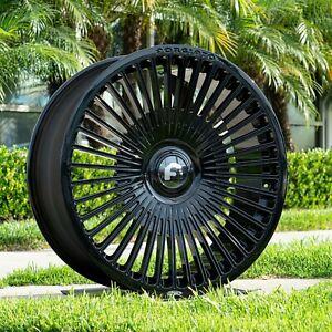 """Rolls Royce Wraith Dawn alloy wheels 24"""" Forgiato Trimestre-M"""