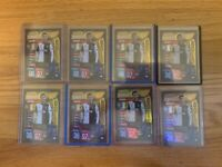 CHRISTIANO RONALDO 2019-20 TOPPS MATCH ATTAX UEFA GOLD LIMITED EDITION LOT OF 8