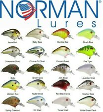 Norman Lures Fat Boy  SHALLOW WATER CRANK  BAIT 5,1cm Rattle   12gr  BASS ASPIO