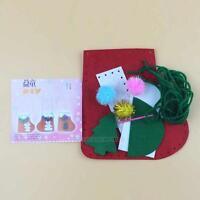 Kids Baby Educational Toy DIY EVA Stickers Christmas Sock Decor Craft Toy Kit