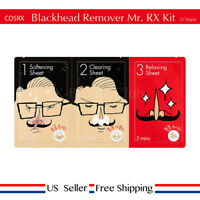 COSRX Blackhead Remover Mr.RX Kit 3 Step Nose Pack + Free Sample [US Seller]