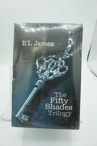 THE FIFTY SHADES OF GREY TRILOGY EL James 3 BOOK SET BRAND NEW FACTORY SEALED !!