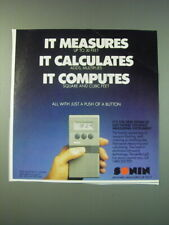 1988 Sonin 30 Electronic Distance Measuring Instrument Ad - It measures it