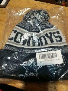 Dallas Cowboys Cuffed Beanie Knit Winter Cap Hat NFL