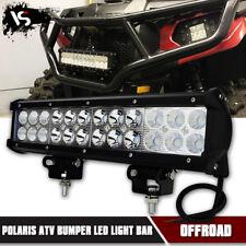 Polaris ATV Front Bumper Led Light Bar 12inch 72W Flood Combo Fog Lamp 12V/24V