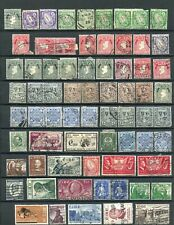 105 Old & Antique Ireland Postage Stamps Used