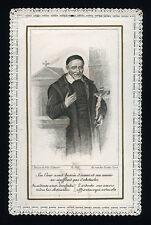 santino merlettato-holycard-canivet  S.VINCENZO DE PAOLI