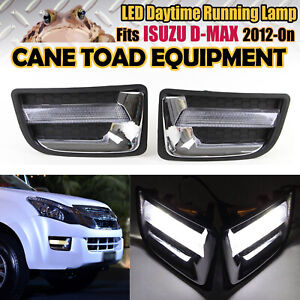 LED DRL Suits ISUZU D-MAX 2012-On Daytime Dunning Light LED Front Lamp