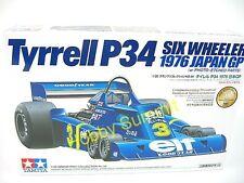 Tamiya 1/20 TYRRELL P34  Six Wheeler 76 Japan GP  P-E Parts  F-1 Formula-1 20058