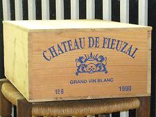 1990 CHATEAU DE FIEUZAL BLANC, 12 x 0,75l in OHK  !!! 92 PARKER !!!