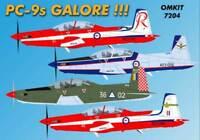 Ozmods Models 1/72 RAAF/Myanmar Air Forces Pilatus PC-9