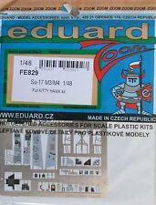 Eduard 1/48 FE829 Colour Zoom etch for the Kitty Hawk Sukhoi Su-17 M3/M4 kit