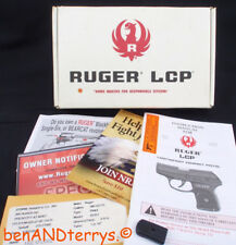 Ruger Lcp Factory Cardboard Pistol Empty Gun Box Case with Manual