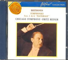 BEETHOVEN - Symphonies 1 & 6 - Fritz REINER / Chicago Symphony Orchestra - RCA