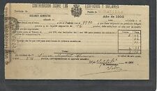 B13B-DOCUMENTO FISCAL  MURCIA CARAVACA IMPUESTOS TASAS.MORATALLA.1903