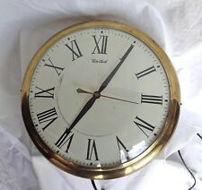 "ANTIQUE United Jeweler's Electric Clock. Aproximately 13 1/4"". Works."