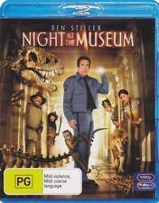 NIGHT AT THE MUSEUM - BRAND NEW & SEALED BLU RAY (BEN STILLER, ROBIN WILLIAMS)
