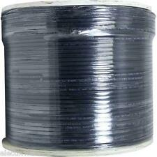 500 FT RG-6 SATELLITE COAX CABLE TV RG6 COAXIAL ANTENNA HD OTA WIRE BELL DISH 3D