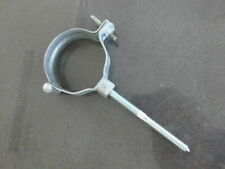 2 x Regenrohrschelle mit Einschlagstift Fallrohrschelle Ø 75 mm Fallrohr RUG Neu