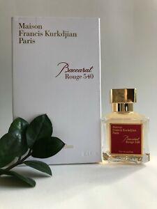 Maison Francis Kurkdjian Baccarat Rouge 540 Eau De Parfum 2.4oz / 70ml SALE!