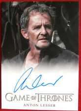 GAME OF THRONES - ANTON LESSER as Qyburn - AUTOGRAPH Card - 2013
