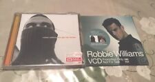 NEW ROBBIE WILLIAMS The Ego Has Landed 1999 Thailand CD + RARE 6 Track Promo VCD