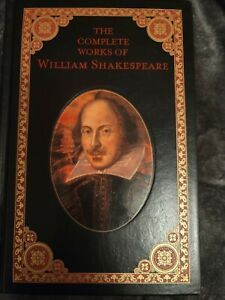 barnes and noble leatherbound classics the complete works of William Shakespeare