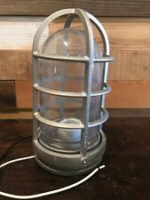 Stonco V131 Explosion Proof Silver Industrial Light Fixture Steampunk
