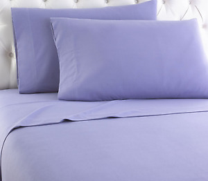 Thermee Micro Flannel Shavel Home Products Sheet Set, Full, Lilac