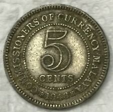 1948  KGVl 5 cents  coin  very nice!