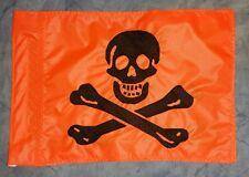 Custom Happy Go Lucky Skull Safety Flag  for ATV UTV Bike Jeep Dune Whip Pole