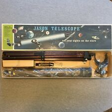 Vintage Jason 325SpaceMaster Astronomical Telescope Made in Japan *Wooden Tripod