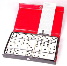 Vintage Case Of Double Six Dominoes By Cardinal-Vinyl Case