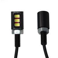 12V 3W LED SMD Motorcycle Car Number License Plate Screw Bolt Light Lamp Bulb