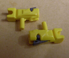 2 Lego Star Wars Blaster armas accesorios para figuras Weapon Guns amarillo Yellow nuevo