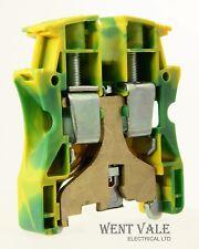LEGRAND Viking - 0371 73-Verde/Giallo 10mm guida DIN montato Blocco di terminazione