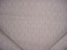 1-1/8Y Romo Black 7647 Inza Clay Silver Textured Hexagon Upholstery Fabric