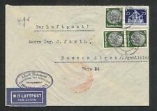 Germany cover sent by air mail to Argentina in 1936 c011