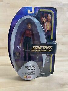Beverly Picard Star Trek Next Generation Diamond Exclusive Action Figure New