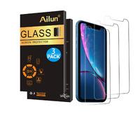 3 Protector de Pantalla Cristal Vidrio Templado Solo Para iPhone XR