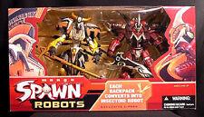 Manga Spawn Robots Deluxe 2 Figure Box set new 2004 McFarlane Toys