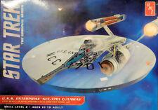 Star Trek TOS U.S.S. Enterprise NCC-1701 Cutaway 1:537 AMT Model Kit AMT891 USS