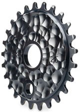 BLACK 25T LUNAR SPROCKET Chainring 15/16 19mm 22mm BMX Bike Stolen Brand Bicycle
