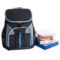 Insulated Thermal Cooler Lunch Backpack Carry Tote Picnic Food Case Storage Bag