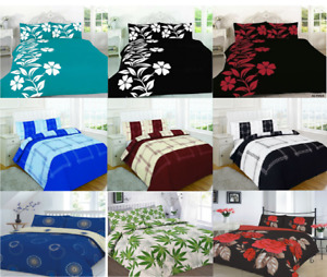 Luxury Printed Duvet Cover Set With Matching Pillow Cases
