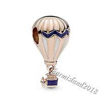 Authentic Pandora Charm 788055ENMX Rose Gold Hot Air Balloon